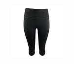 Black Crop Legging (High compression)