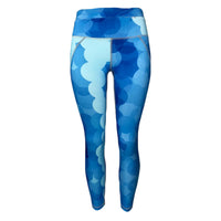 Blue Circle Legging