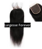 100% Human Hair extensions 3 bundles and frontal Brazilian