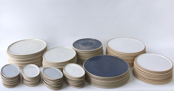 Tableware commission - handmade ceramics for restaurant