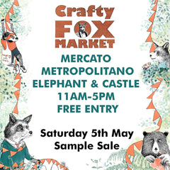 Crafty Fox Market - Sample and second sale