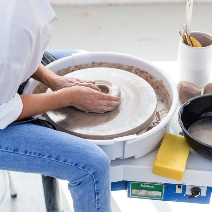 Pottery throwing taster session