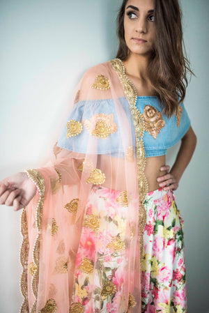 The Millennial Pink Dupatta