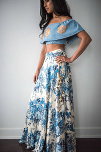 Blue Hues Skirt