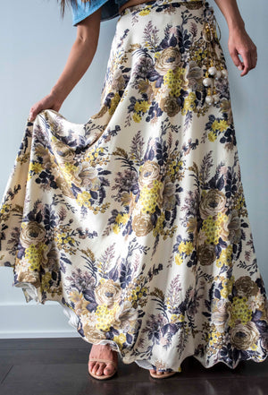 Forest Floral Skirt