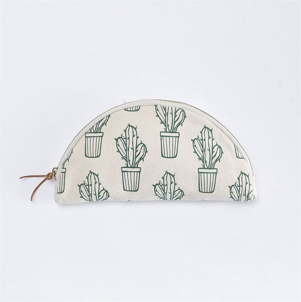 MUDPIE CANVAS COSMETIC BAG