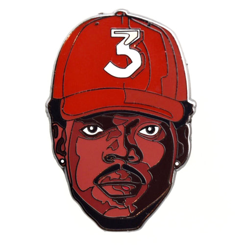 Chance The Rapper Enamel Pin - pinpac