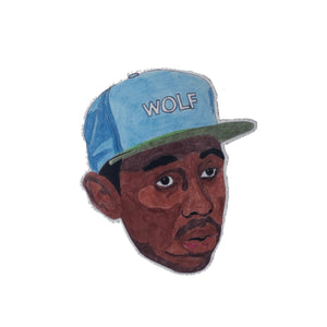 Tyler The Creator WOLF Art Sticker - pinpac