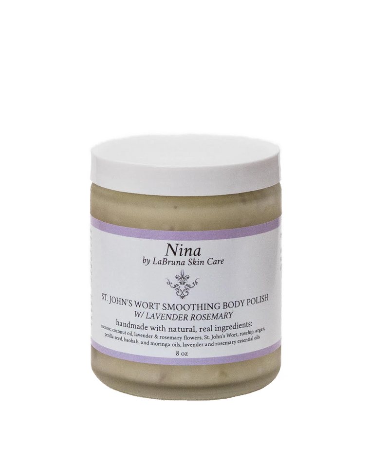 St. John's Wort Smoothing Body Polish With Lavender Rosemary