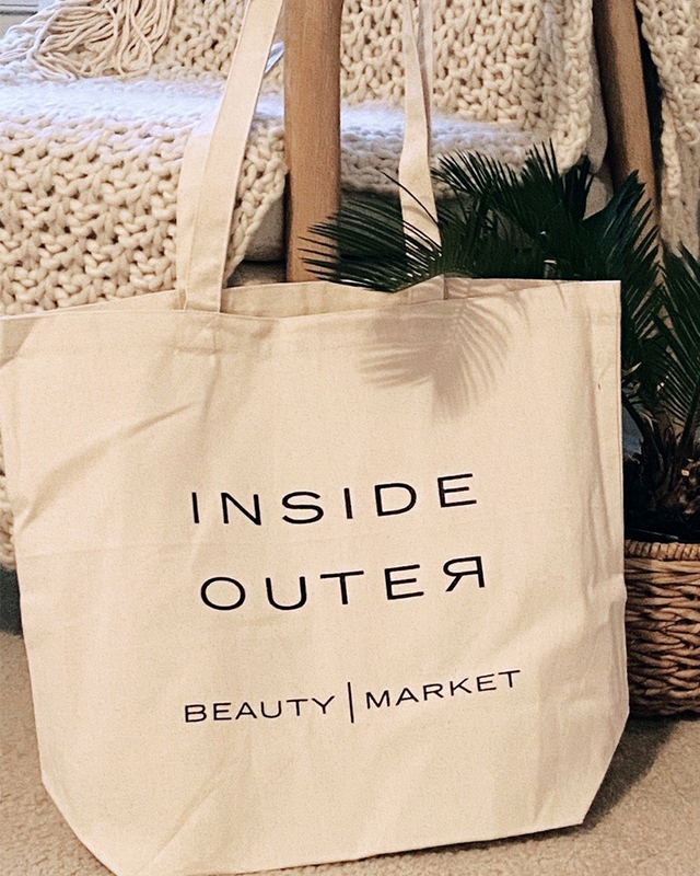 Inside Outer Beauty Tote