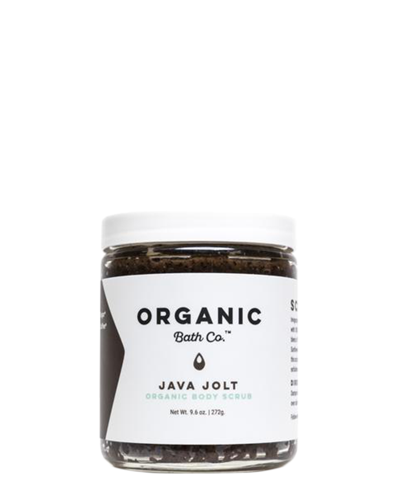 Java Jolt Organic Sugar & Coffee Scrub