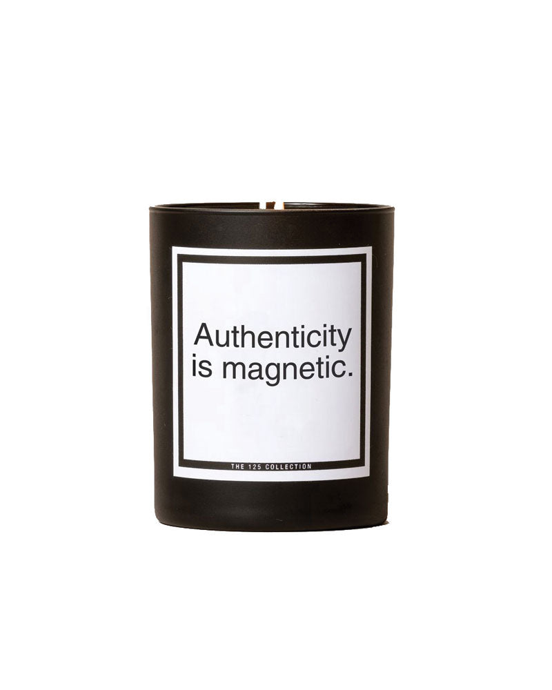 Authenticity Is Magnetic Soy Candle | Spice Bergamot