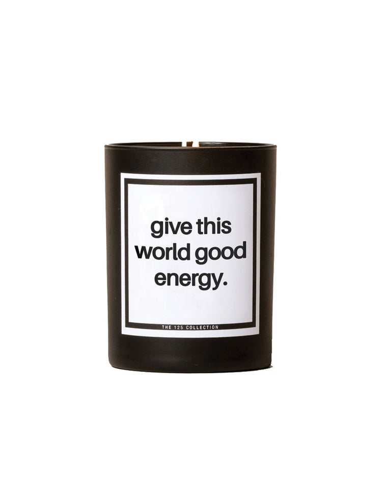 Give This World Soy Candle | Spiced Bergamot |