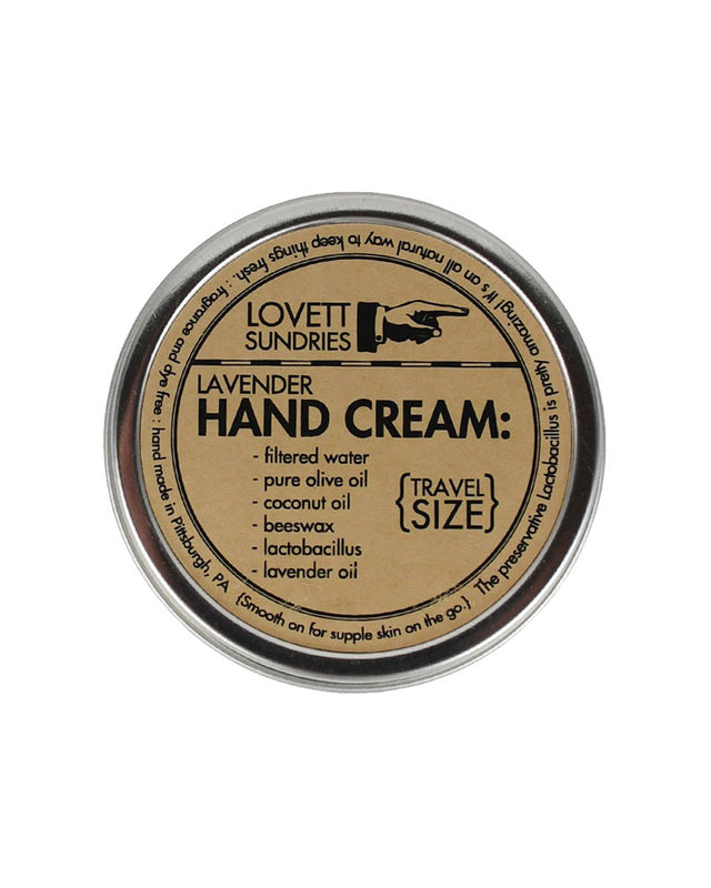 Hand Cream - Travel Size