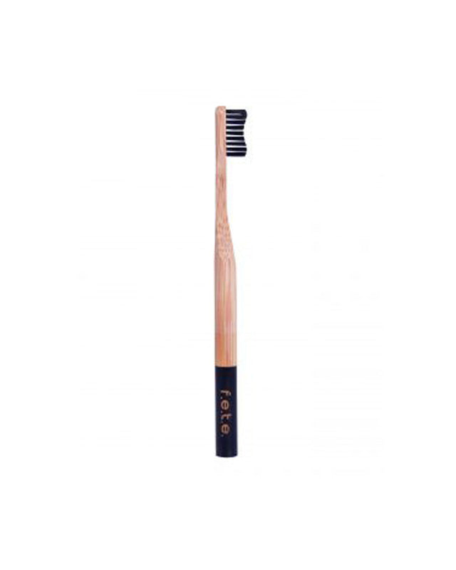 Natural Bamboo Toothbrush - Black