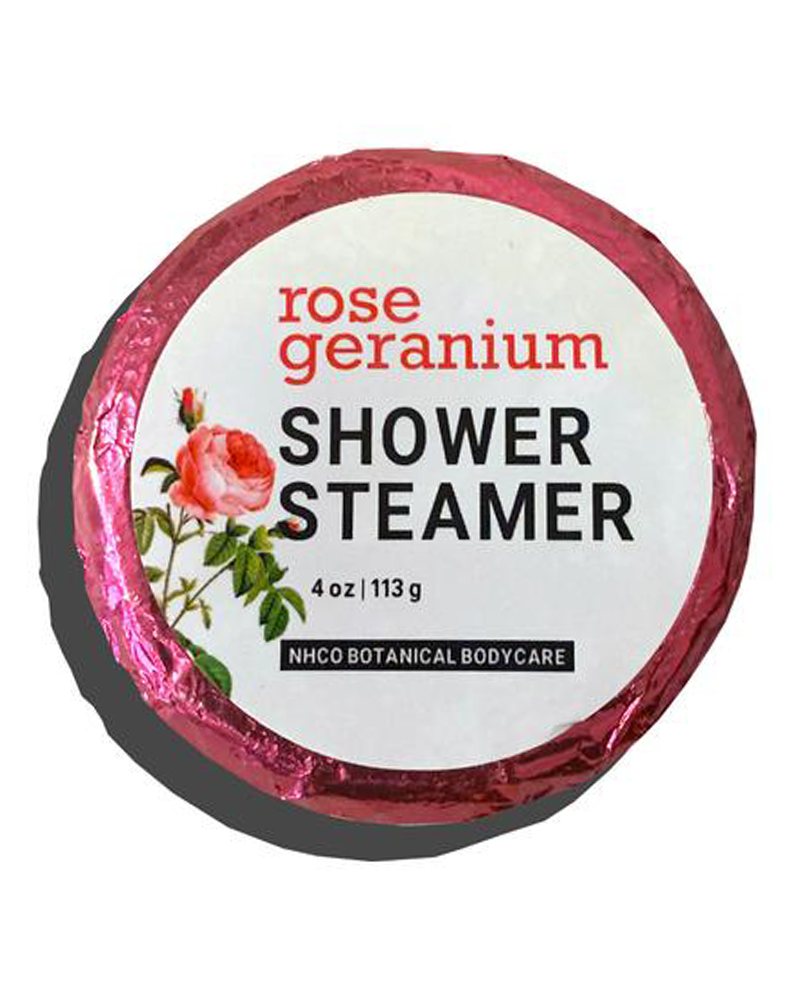 Rose Geranium Shower Steamer