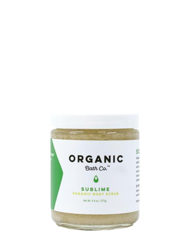 SubLime Organic Body Scrub