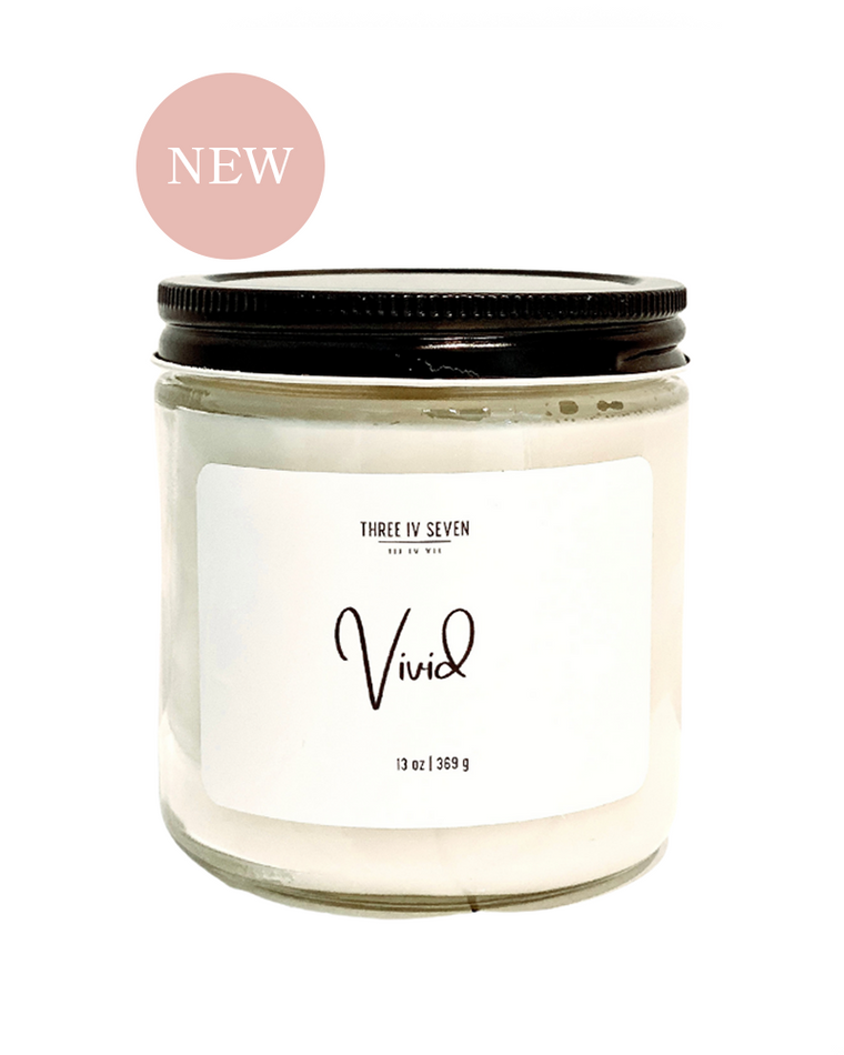 Vivid Soy Candle