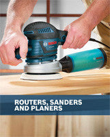 Bosch Routers Sanders Planers Specialty