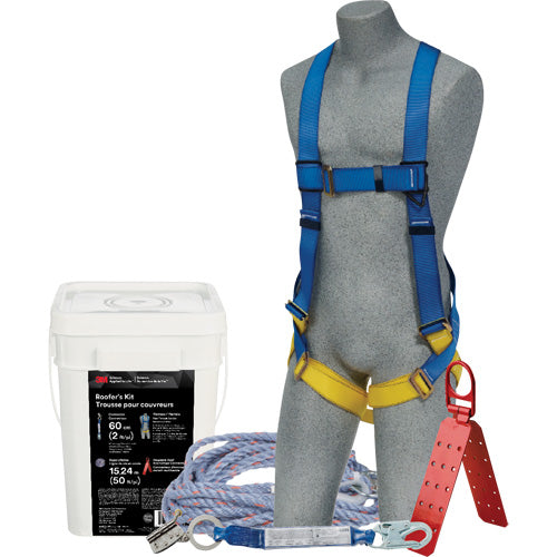 3M 2199910 Roofers Safety Kit 50 Feet