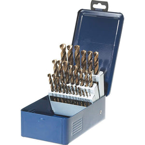 Drill Bit Set - SST+ High Speed Steel 29 Piece Jobber Drill Bit Set