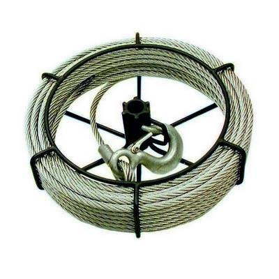 1-1/2 Ton 100' Cable Assembly For JET/SUMO Wire Grip Pullers (111163)