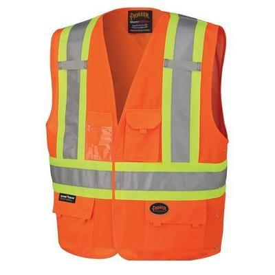 Hi-Viz Safety Vest - Orange (134)