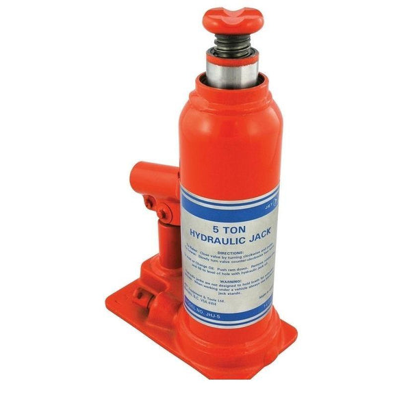 12-1/2 Ton JET Hydraulic Bottle Jack - Super Heavy Duty (140105)