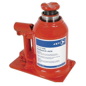 17-1/2 Ton JET Hydraulic Bottle Jack - Low Profile - Super Heavy Duty