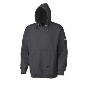 Flame Resistant Pullover Style Heavyweight Cotton Hoodie - Black (335)