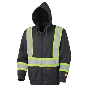Flame Resistant Zip Style Heavyweight Cotton Safety Hoodie (337SF)