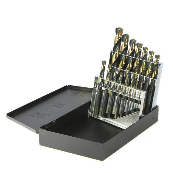 Drillco Nitro Mechanics Length 15 Piece Drill Bit Set (350N15)