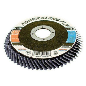 "4-1/2"" x 7/8"" Z60 POWERBLEND FLX Flexible Zirconia Flap Disc (503315)"