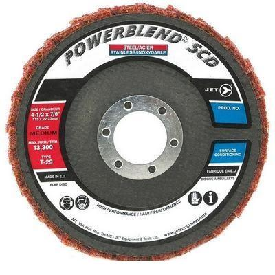 Jet Fine POWERBLEND SCD T29 Surface Conditioning Flap Disc