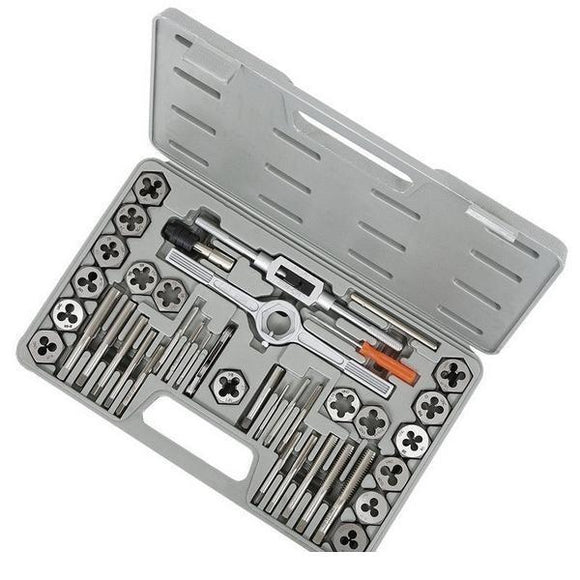 Jet 40 Piece S.A.E. High Speed Steel Tap and Alloy Die Set (530106)