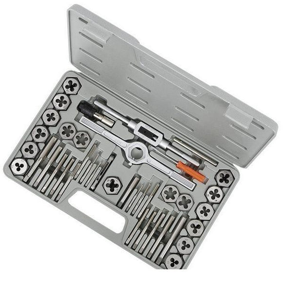 Jet 40 Piece Metric High Speed Steel Tap and Alloy Die Set (530107)