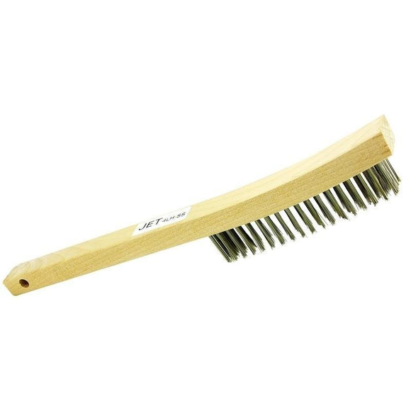 4 Row, Long Handle, Stainless Steel Hand Brush (551112)