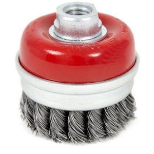 3 x 5/8-11NC Knot Banded Cup Brush - High Performance (553607)