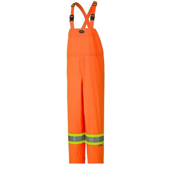 Hi-Viz 150D Lightweight Waterproof Safety Bib Pant - Orange (5595)