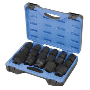 "3/4"" Drive 17 Piece Metric Impact Socket Set (610407)"