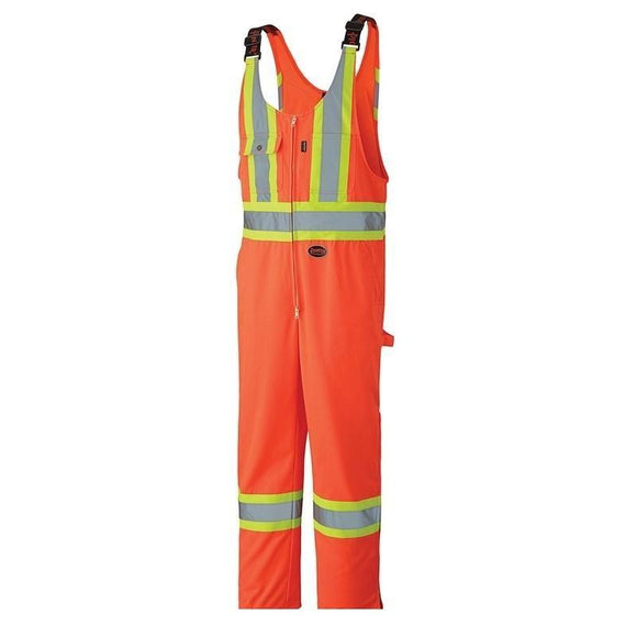 Hi-Viz Safety Poly/Cotton Overall - Orange (6618)