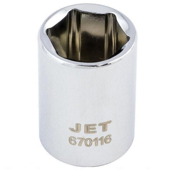 6 Point Regular Chrome Socket
