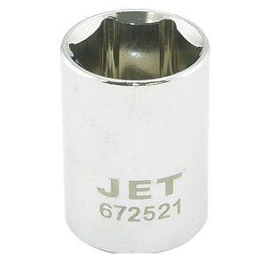"6 Point Regular Chrome Socket - 1/2"" Drive - Metric"