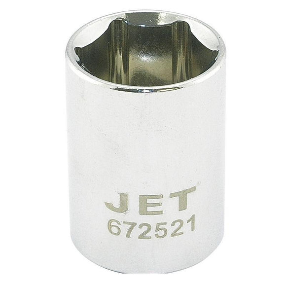 6 Point Regular Chrome Socket - 1/2