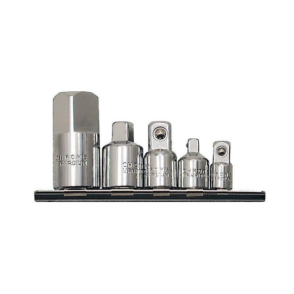 5 Piece Chrome Socket Adaptor Set (690115)