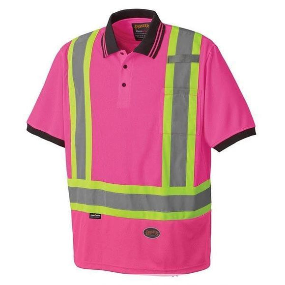 Women's Birdseye Safety Polo Shirt