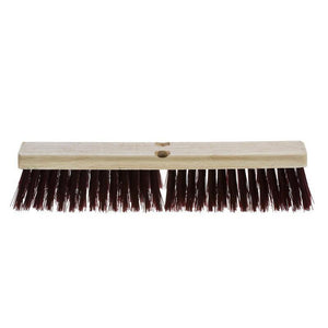 Synthetic Fibre Coarse Sweep Push Broom (Head Only)