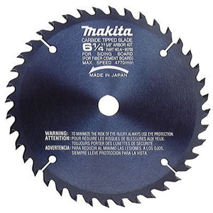 "Makita 6-1/4"" 40T Carbide Fibre-Cement Saw Blade A-90700"