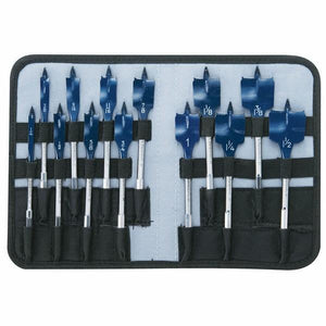 13 pc. Daredevil Spade Bit Set in Pouch (Bosch DSB5013P)