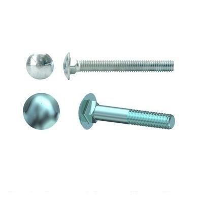 Grade 2 Zinc Plated Carriage Bolts